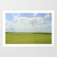 The Grass Is Always Gree… Art Print