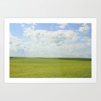 The Grass Is Always Gree… Art Print