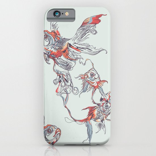 Floating in Deep iPhone & iPod Case