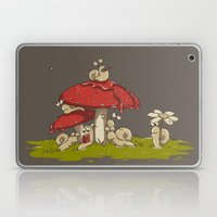 A Rainy Day at the Garden Laptop & iPad Skin