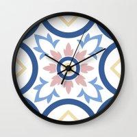 Floor Tile 2 Wall Clock