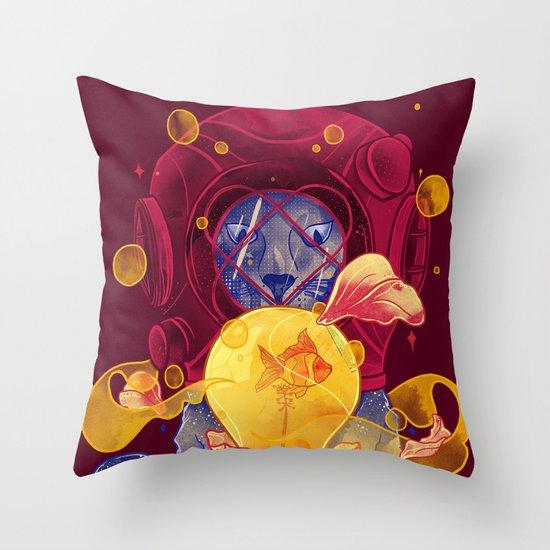 La Lumiere Throw Pillow
