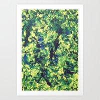 Moss Skin II Art Print