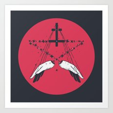 Idle Hands Are The Devil… Art Print