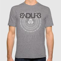SOLA FIDE Mens Fitted Tee Tri-Grey SMALL