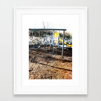 Lonely Day Framed Art Print