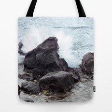 Come crashing down  Tote Bag