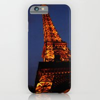 iPhone & iPod Case featuring Las Vegas - Paris by Arevik Martirosyan