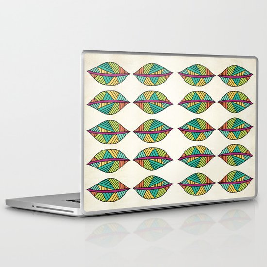Native Leaves Laptop & iPad Skin