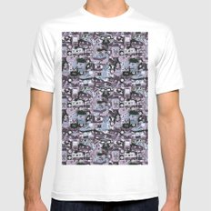 Wavvs Mens Fitted Tee White SMALL