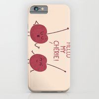 iPhone & iPod Case featuring Le Flirt by Teo Zirinis