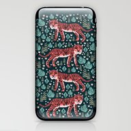 iPhone & iPod Skin featuring Safari Tiger By Andrea L… by Andrea Lauren Design