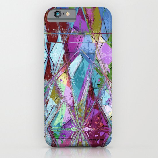 Abstract geometrics iPhone & iPod Case