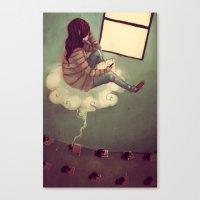 While I Dream Canvas Print