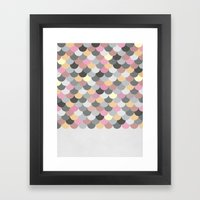 Nordic Combination 15 Framed Art Print