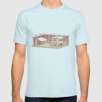 Dojo Mens Fitted Tee Light Blue SMALL