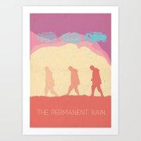 The Permanent Rain Art Print