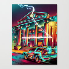 Hill Valley Canvas Print