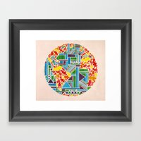And Then, There Was Eart… Framed Art Print