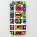 8-bit Game Cartridges iPhone & iPod Case