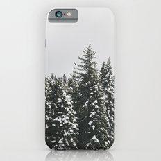Snow Trees Slim Case iPhone 6s