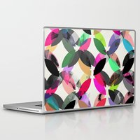 Laptop & iPad Skin featuring colour + pattern 16 by Georgiana Paraschiv