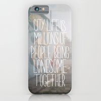 iPhone & iPod Case featuring City Life by Galaxy Eyes