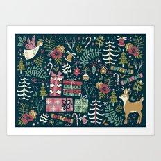Christmas Joy Art Print