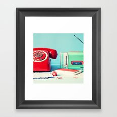A Call To Your Heart Framed Art Print