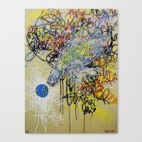 jubilee 2013 - creation Canvas Print