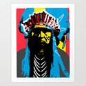 Indian Pop 47 Art Print