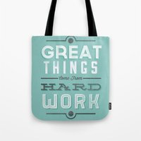 Great Things... Tote Bag