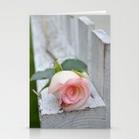 Love On The Fence Stationery Cards