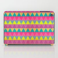 Colored Triangles iPad Case