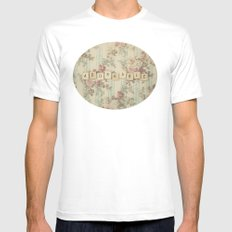 Adorkable Mens Fitted Tee White SMALL