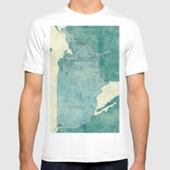 United States Of America… Mens Fitted Tee White MEDIUM