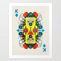 Heisenberg Fan Art Art Print