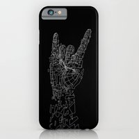 iPhone & iPod Case featuring Metal by Tombst0ne