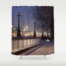 City lights Shower Curtain