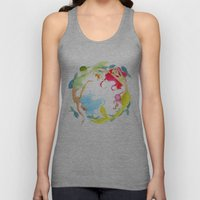 Mermaid Circle Unisex Tank Top