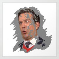 Andy Bernard, The Office Art Print