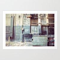 Alley ''97 Art Print