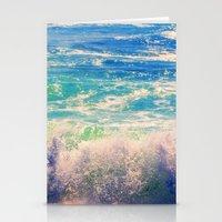 Aqua Mist Stationery Cards