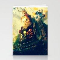 Super Santa Stationery Cards