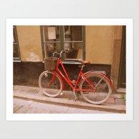 Cykel Art Print