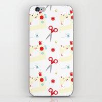 Sewing fun iPhone & iPod Skin