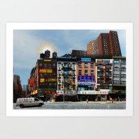 Walk on Little Fuzhou - New York Art Print