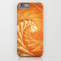 iPhone & iPod Case featuring The Burning Eye Sees Spiral by Wendy Townrow