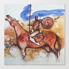 Cavaliere errante Canvas Print