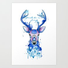 Always. Harry Potter patronus. Art Print